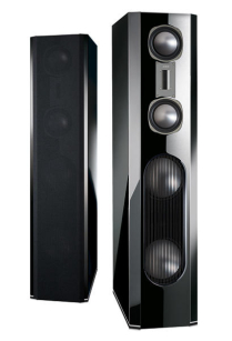 Quadral Aurum TITAN 9 piano black para